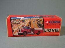 CORGI, LIONEL, Die cast Fire Truck,Lionel City Mack B pumper