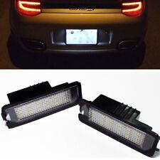 LED License Plate Light No Error Porsche Boxster Cayenne Cayman 997 911 Carrera