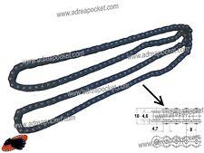 Chaine Large 9mm T8F 58 Liens Noire Pocket Bike / Pocket Cross