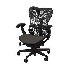 Authentic Herman Miller Mirra 1 Task Chair Grey mesh desk chair office semi load