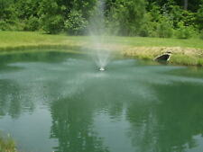 Floating Pond Fountain 3/4 HP, 6360  GPH with 100' Power Cord, Tether and Timer