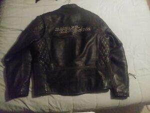 Harley-Davidson Competition Leather Jacket Mens XL #98110-05VM