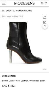 Vetements boots $1200