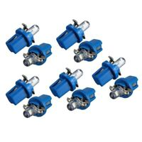 10x LED BULB METER DASH B8-5D T5 lamp with holder BLUE TUNING auto car ligh C6S9