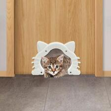 Interior Cat Door Kitty Barrier Free Hole Small Pets Gate Box Furniture Indoor