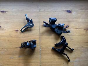 Shimano Tiagra 4600 Partial Groupset Flat Bar 10-Speed Shifters, F&R Derailleurs