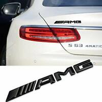 BLACK NEW STYLE - For Mercedes AMG Boot Badge Rear Emblem Logo - for every model