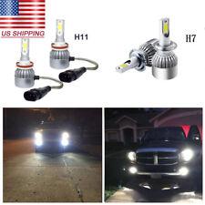 1Set 72W White Car COB LED Headlight Hi/Low Beam Lights Kit for Mazda CX-7 07-12