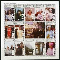 TURKS AND CAICOS 2016 THE TRAVELS OF QUEEN ELIZABETH II  SHEET MINT NH