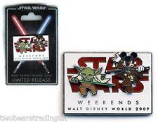 WDW Star Wars Weekends 2009 Logo LE 7000