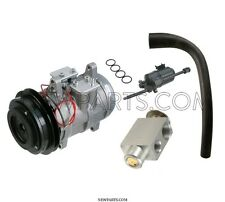 Porsche 928 4.5L AC Compressor with Clutch + Expansion Device + Reciever Drier