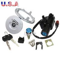 Ignition Switch Lock Fuel Gas Cap Key Set For Honda CBR600RR 2007-2014 08 09 10