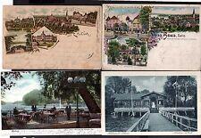 112744 4 AK Eutin Litho 1900 Holstein Schweiz Hotel Voß Haus Schloss Wohnhaus de