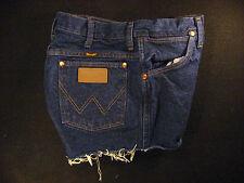 Wrangler Vintage CUTOFF JEAN SHORTS Cut Off High Waisted W 30 MEASURED Hot Pants