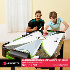 MD Sports 48 Inch Air Powered Hockey Table W/ LED Electronic Scorer Classic Game