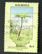 Mauritius stamps - Cycad, Fern Tree. 4 rupee 1989