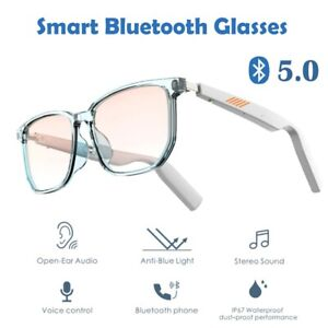 Smart Bluetooth 5.0 Glasses Music Waterproof and Dustproof Voice Control