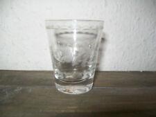 Verres à liqueur en cristal