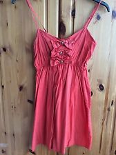 Woman's Orange Top Size 12 Ideal To Wear With Leggings