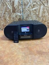 Sony ZS-S3iPN CD Player AM/FM Personal Audio System w/ iPhone/iPod Dock Remote