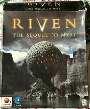 Myst Set on CD includes Myst Riven & Exile 2 Strategy Guides AWESOME GAMES!