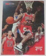 1996/97 Michael Jordan Chicago Bulls NBA Hoops Basketball Card #20 NM Condition
