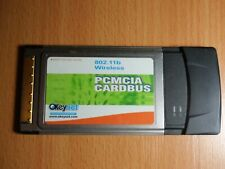 OKeyNet PCMCIA WLAN Netzwerk Steck-Karte 802.11bLaptop Notebook Card Bus Adapter