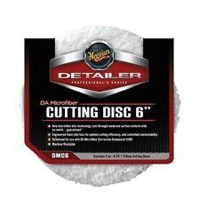 """Meguiars DMC6 DA Microfiber Cutting Disc 6"""", Pack of 2"""