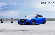 20x11 +28 Rohana RC7 5x112 Matte Graphite Wheels Fit Audi Rs5 Rs-5 2015 Stance
