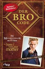 DER BRO CODE Matt Kuhn HOW I MET YOUR MOTHER Kult Fernseh Serie Buch