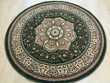 ROUND Rug  Traditional Persian Medallion Oriental Size 150x150cm Now 30% OF