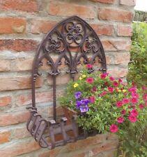 Gothique Corbeille Murale Bacs à Fleurs 50cm H.Antique Style Jardin Fonte Neuf
