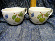 Set of Two Sarah's Garden Wedgwood China Made In England Cup