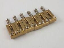 Solid BRASS BRIDGE SADDLES 52.5mm spacing for Stratocaster style Tremolo Bridges