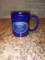 KANSAS CITY ROYALS KC BLUE COFFEE CUP