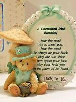 "Cherished Teddies  ""A Cherished Irish Blessing"" 1994 Priscilla Hillman  Vintage"