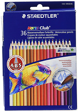 NEW Watercolor Pencils 36 Brilliant Colors Office Products Crayons Staedtler