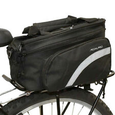 PEDALPRO BICYCLE REAR RACK PACK TAIL PANNIER BAG STORAGE BIKE/CYCLE COMMUTER NEW
