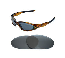 NEW POLARIZED BLACK REPLACEMENT LENS FOR OAKLEY MINUTE 2.0 SUNGLASSES