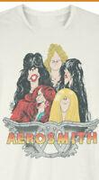 Vintage Aerosmith Tour 1978 Concert White T-shirt Unisex All Size ZN103