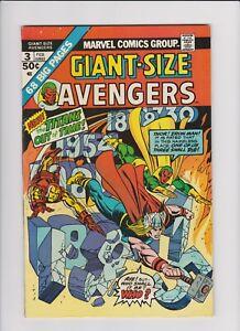 Giant Size Avengers #3 (Feb 1974, Marvel)