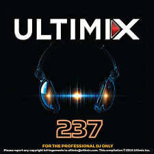 Ultimix 237 CD The Weeknd Lady Gaga Train Bebe Rexha Krewella Remixes Club Music