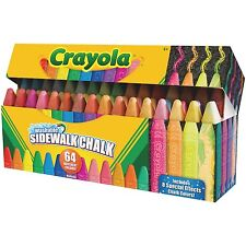 Crayola Washable Sidewalk Chalk (cyo-512064) (cyo512064)