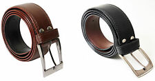 Combo of Men's Semi Formal Belt Black and Brown color with Free shipping