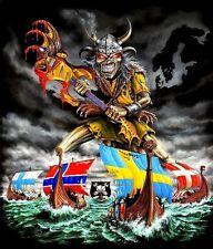 Iron Maiden - Viking Nordic Eddie Heavy Metal Sticker or Magnet