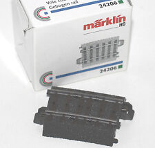 Märklin H0 24206 Gleis geb.r437,5 mm,5,7 Gr.