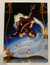 2020 marvel masterpieces Iron Man Legendary Orange  47/99 🔥🔥MP9