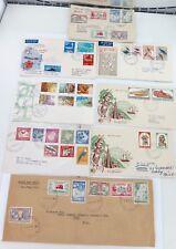 JOB LOT PACIFIC FDC's. 1951 - 1974. PNG, TONGA, FIJI, NAURU.