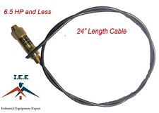 """New Throttle Control Cable for Gas Air Compressors Unloader Bullwhip 24"""""""