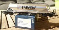 Heris 12503 H0 Silowagen der Firma Ermewa GmbH Trevira Werbung der SNCB Ep.5/6